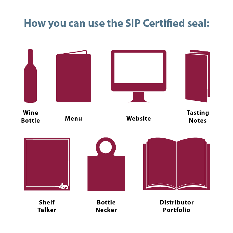 How You Can Use the SIP Certified Seal